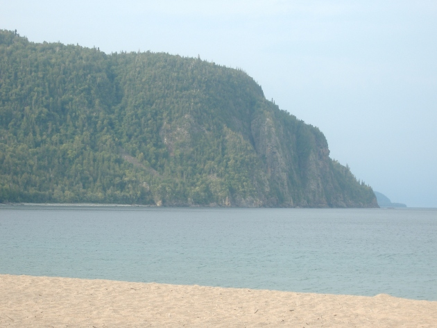 Old Woman Bay Lake Superior