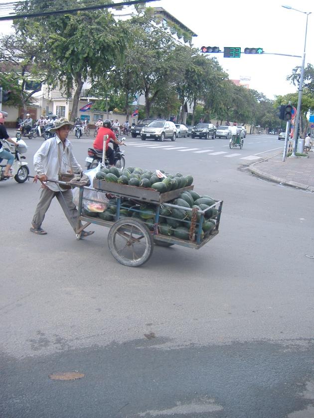 Watermelon Vendor